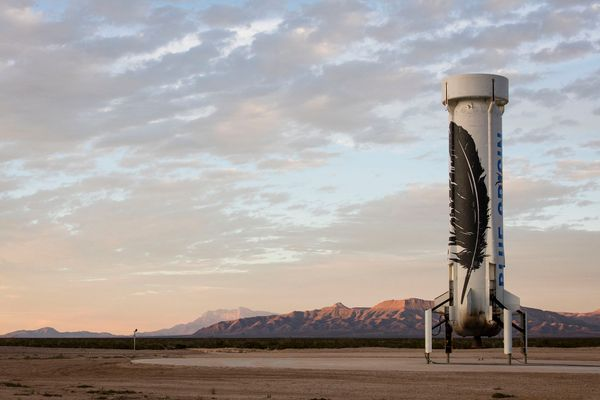 Blue Origin - The New Space Race